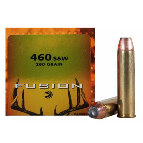 Federal Fusion Ammunition, 460 S&W Magnum, 260 Grain, Jacketed Hollow Point - Box of 20?>