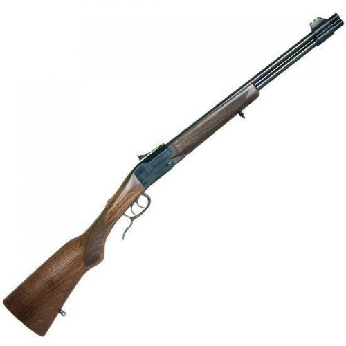 "Chiappa Double Badger Combined Over/Under Rifle, .22WMR / .410 Gauge, 19"" Barrel, 2 Rounds, Wood Stock, 500.111?>"