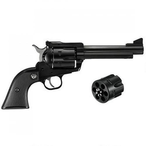 "Ruger New Model Blackhawk Single Action Revolver Convertible .357 Magnum and 9mm Cylinders 6.5"" Barrel Blued 0318?>"