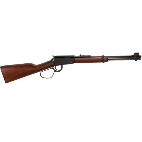 "Henry Lever Action Rimfire Carbine, .22LR,16.125"" Barrel, 12 Rounds, Walnut Stock, Blued Finish, H001L?>"