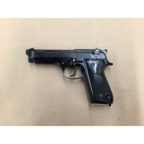 Beretta 92S Semi-Auto Pistol, 9mm, Black Finish, 10 Round, Issued Surplus - A+ Grade?>