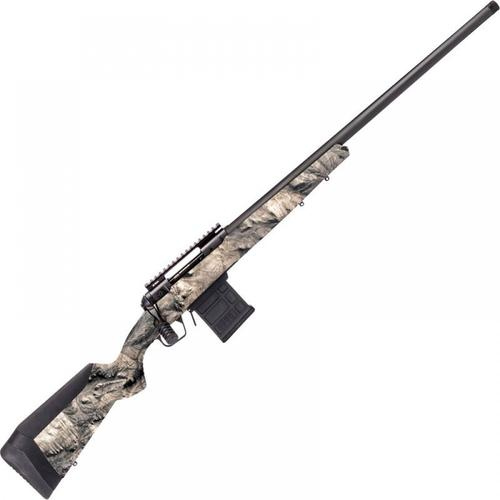 "Savage 110 Ridge Warrior Bolt Action Rifle 6.5 Creedmoor 24"" Barrel Overwatch Camo Synthetic Adjustable AccuFit AccuStock Gray PVD Finish 23201?>"