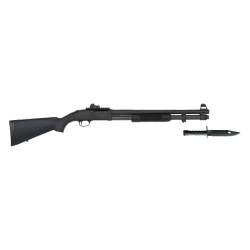 "Mossberg 590A1 SPX, 12 Gauge Pump Action Shotgun, 20"" Barrel, 9 Rounds, Synthetic Stock, Parkerized Finish, Includes M9 Bayonet, 50771?>"