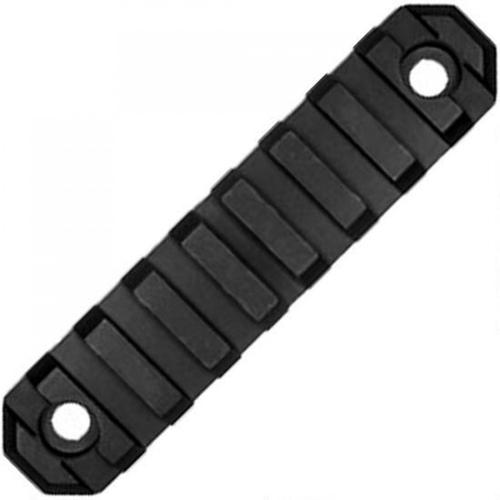 "GrovTec Keymod 9 Slot 3.8"" Rail Section KeyMod to Picatinny Solid Aluminum Type III Black Hard Anodized Finish GTSW229?>"