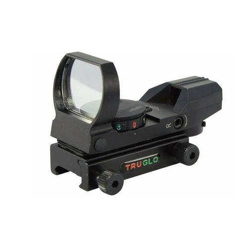 Truglo Dual Color Red Dot Sight 34mm Multi Reticle Red/Green TG8360B?>