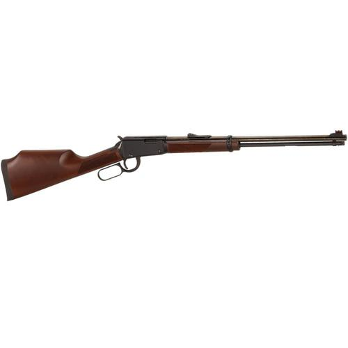 "Henry Varmint Express Lever Action Rifle 17 HMR 20"" Barrel Walnut Stock Blue Finish H001V?>"