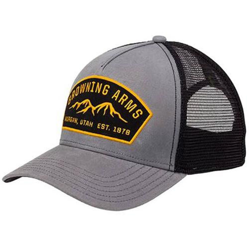 Browning Cap Ranger Grey with Browning Arms Logo?>