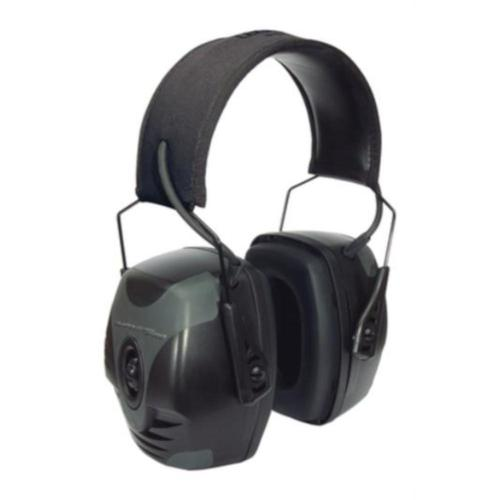 Howard Leight Impact Pro Extreme Electric Ear Muffs Rating (NRR) 30?>