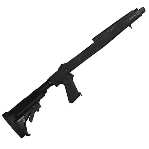 Choate 5-Position Collapsible 10/22 Rifle Stock with Pistol Grip Black?>