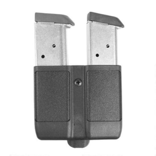 BLACKHAWK! Double Mag Case Single Stack Magazines Polymer Black 410510PBK?>