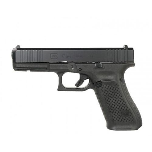 "Glock 17 Gen5 Semi-Auto Pistol 9mm 4.49"" Barrel GNS (Glock Night Sights) Front Serrations UA175S701?>"