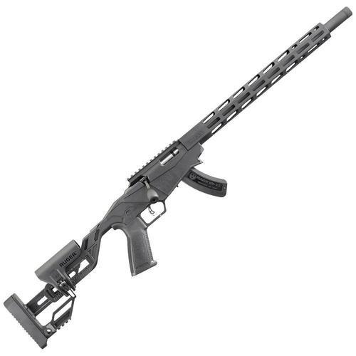 "Ruger Precision Rimfire Rifle 22 Long Rifle 18"" Threaded Barrel Black?>"
