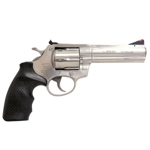 "Alfa Proj. 9251 Classic Revolver 9mm Stainless Steel Recessed Cylinder 6 Rounds 4.5"" Barrel H13ALFA09251CSS?>"