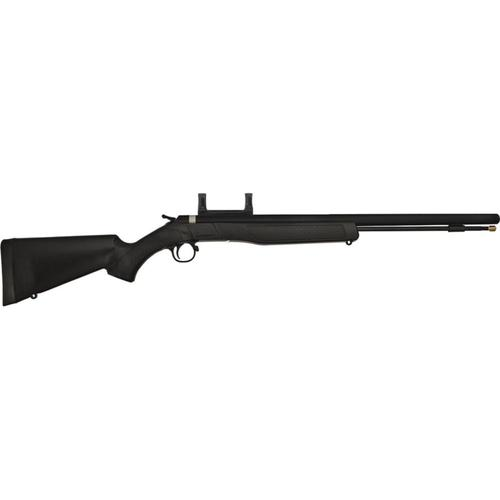 "CVA Wolf 209 Magnum Muzzleloader Rifle .50 Caliber 24"" Blued Steel Barrel Scope Mount PR2110M?>"