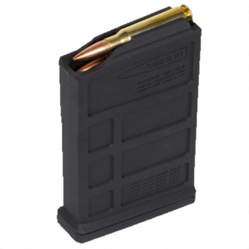 Magpul PMAG AC/AICS Short Action Magazine .308 Win/7.62 NATO 10 Rounds Polymer Black MAG579-BLK?>