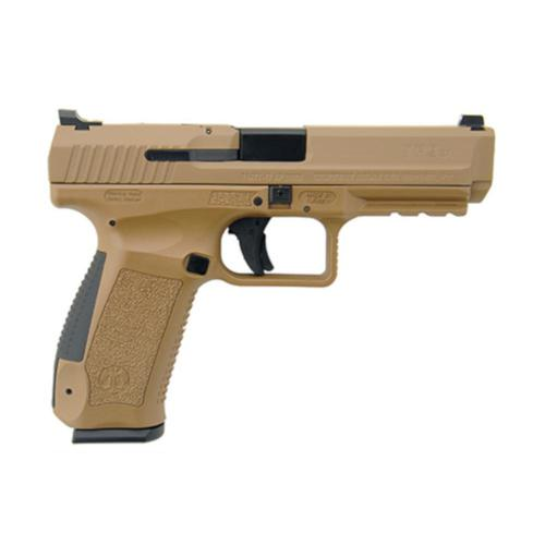 "Century Arms Canik TP9SA Mod.2 Semi-Auto Pistol 9mm Luger 4.46"" Barrel 10 Round Desert Tan Holster HG4543D-N?>"
