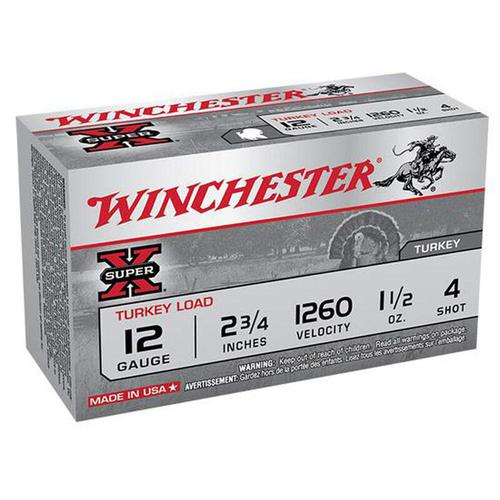 "Winchester 12 Gauge 2.75"" #4 Copper Plated 1.5 oz 10 Rounds?>"