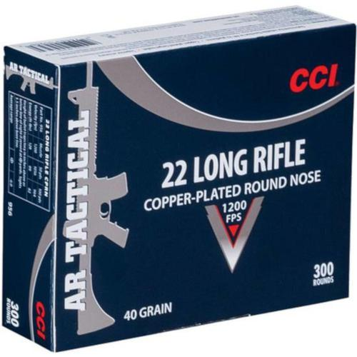 CCI Tactical Ammo .22LR 40gr Plated LRN - Box of 300 Rounds?>