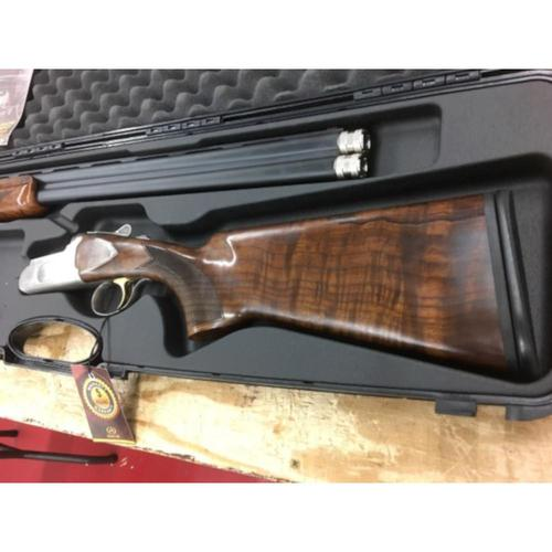 Churchill 206 Grd 3 Over/Under Shotgun 12 Gauge 3� Chamber 28� Barrel Grd III Select Walnut Stock Barrel Selector Auto Eject w/case A12905?>