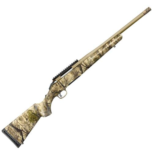 Ruger American Bolt Action Rifle, 6.5 Creed, 16.1 Bronze Bbl, Go Wild Camo?>