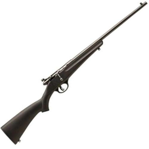 "Savage Rascal Single Shot Bolt Action Rifle .22LR 16"" Barrel Adjustable Peep Sight AccuTrigger Black Synthetic Stock 13775?>"