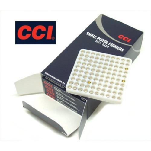 CCI Small Pistol Primers #500 - Box of 100?>