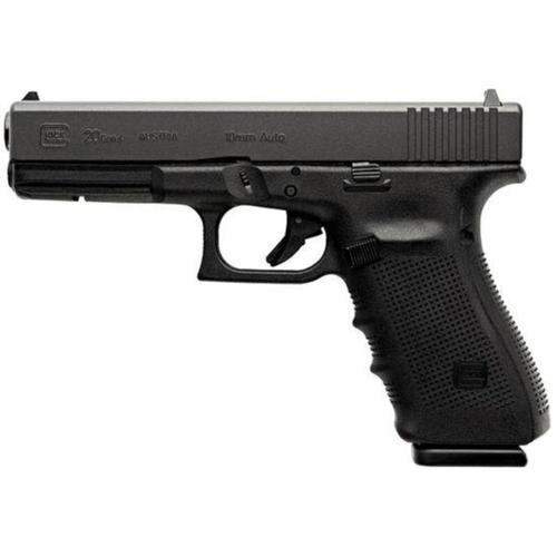 "Glock 20 Gen4 Semi-Auto Pistol 10mm 4.6"" Barrel PG2050201?>"
