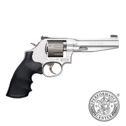 "S&W 986 Performance Center Revolver 9mm Luger 5"" Barrel 7 Rounds Synthetic Grip Glass Bead Finish 178055?>"
