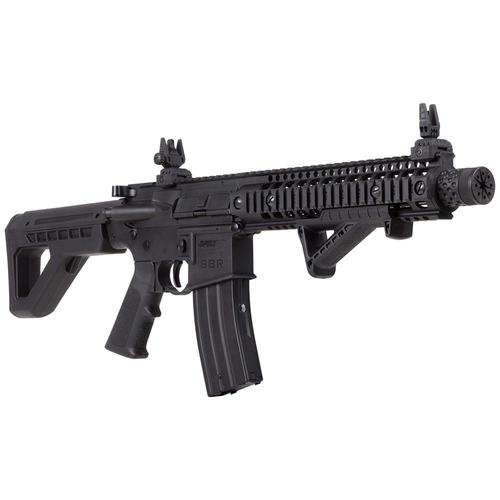 Crosman DPMS SBR CO2 177 Caliber BB Air Rifle Full Auto Black DSBR?>