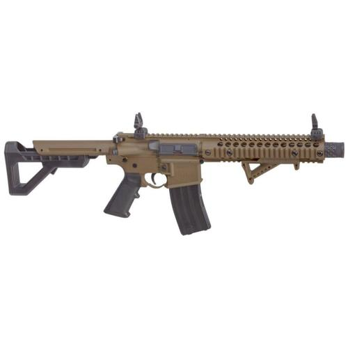 Crosman DPMS SBR CO2 177 Caliber BB Air Rifle Full Auto Flat Dark Earth (FDE) DSBRFDE?>