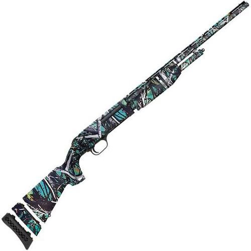 "Mossberg 510 Youth Mini Super Bantam 20 Gauge Pump Action Shotgun 18.5"" Barrel 3"" Chamber 3 Rounds Bead Sight Synthetic Stock Muddy Girl Serenity Finish?>"