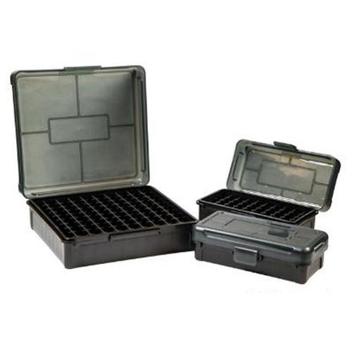 Frankford Arsenal Plastic 50 Round Hinge-Top Ammo Boxes Fits .30 Carbine Polymer Gray?>