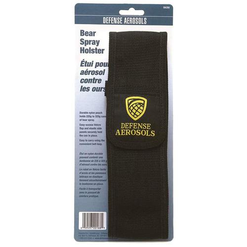 Defense Aerosols Bear Spray Belt Holster, Fits 225g and 325g, Nylon?>