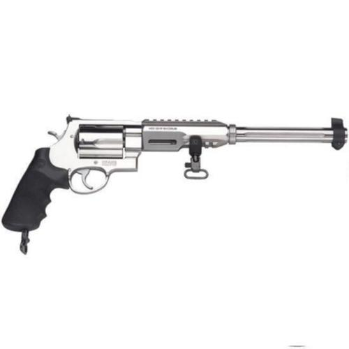"S&W 460XVR Hunter Revolver .460 S&W Magnum 12"" Barrel 5 Rounds Performance Center Tuned Action Chrome Hammer Stainless Steel 170280?>"