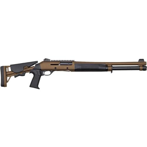 "Canuck Operator Semi-Auto Shotgun 12 Gauge Tan 18.6"" Barrel?>"
