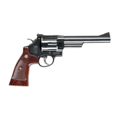 "S&W Model 29 Classic Revolver .44 Magnum 6.5"" Barrel 6 Rounds Adjustable Sights Altamont Wood Grips 150145?>"