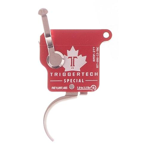 TriggerTech Remington 700 Special Trigger 1-3.5lbs Adj Curved Trigger Shoe with Safety With Bolt Release X07-SRS-13-TBC?>