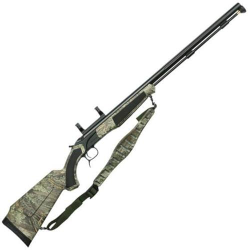"CVA Accura PR Break Action Black Powder Rifle .50 Caliber 28"" Fluted Barrel Dead On Scope Mount RT Max-1 Camo Synthetic Stock Black Nitride Finish PR3131NM?>"