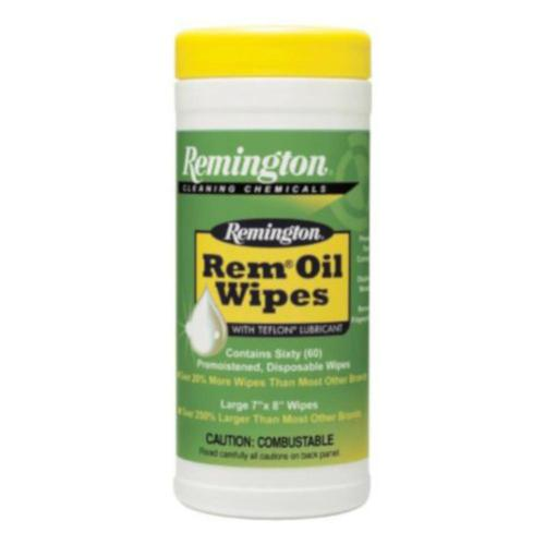 Remington Rem Oil Wipes 7″ x 8″ (60 Count) 11918?>