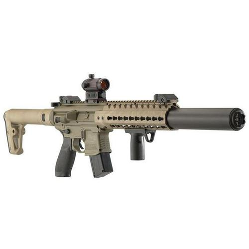 Sig Sauer MCX 177mm 88 Gr CO2 Red Dot FDE Air Rifle?>