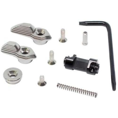 TriggerTech Ambi AR-15 Safety 45°/90° Throw Stainless ARS-SNS-49-YNM?>