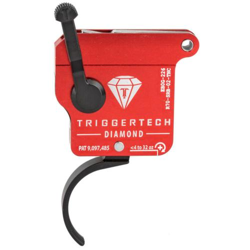 TriggerTech Rem 700 Diamond Curved Trigger Right Handed Without Bolt Release R70-SRB-02-TNC?>