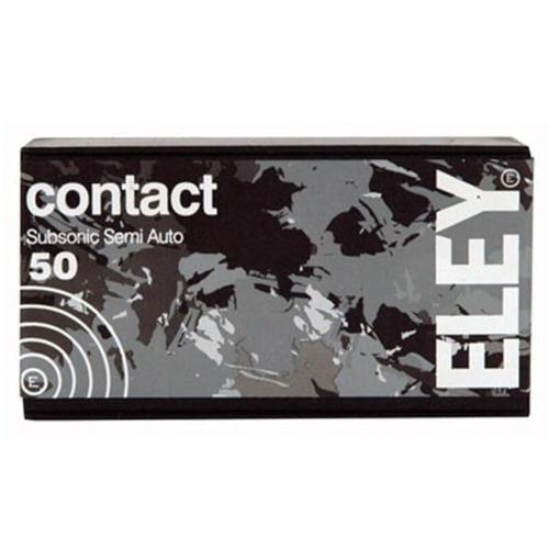 Eley Contact Subsonic Semi-Auto Ammo 22LR LRN 42grs 02300 - Box of 50?>