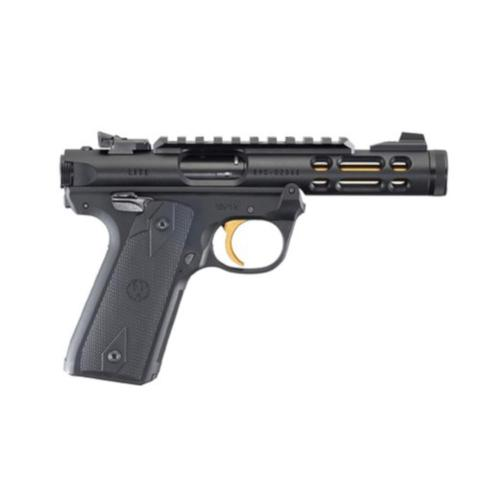 "Ruger IV 22/45 Lite Semi-Auto Pistol 22LR 4.4"" Threaded Barrel Black Anodized 43927?>"