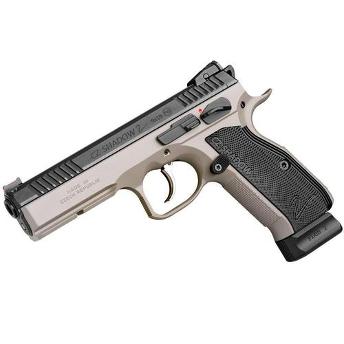 CZ Shadow 2 Semi-Auto Pistol 9mm 10 Round Adjustable Sights Urban Grey 0424-0741UJMMAS5?>