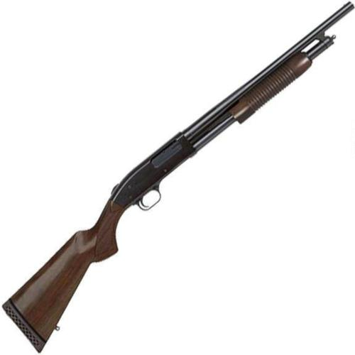 "Mossberg 500 Retro Pump Action Shotgun 12 Gauge 18.5"" Barrel 3"" Chamber 6 Rounds Walnut Stock Blued 50429?>"