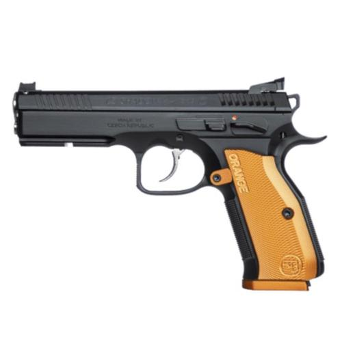 CZ Shadow 2 Orange Semi-Auto Pistol 9mm 10 Round Adjustable Sights 0424-0744-KF19001?>