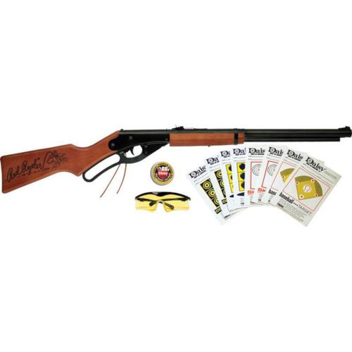 Daisy 1938 Red Ryder Youth BB Air Rifle Lever Action 177 Caliber Fun Kit?>