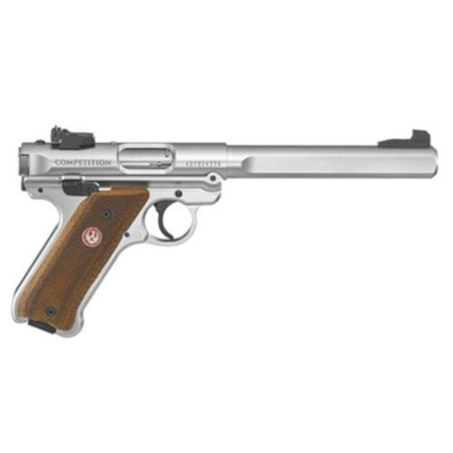 "Ruger Mark IV Competition Semi-Auto Pistol .22LR 6.8"" Barrel 10 Rounds Slab-Sided Bull Barrel 40112?>"
