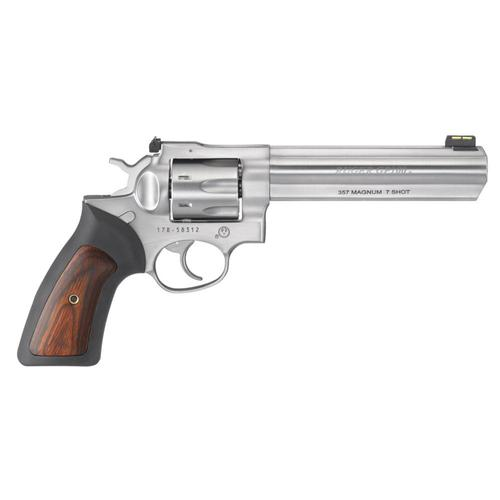 "Ruger GP100 Revolver 357 Magnum 6"" Barrel 7 Rounds Stainless Finish 1773?>"